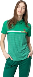Audimas Womens Functional Polo Tee Jolly Green M