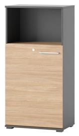 Riiul Szynaka Meble Omega 06 Oak, 60x122x38 cm