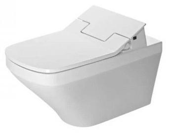 Seinapealne WC-pott Duravit DuraStyle SensoWash Rimless, kaanega, 375x620 mm