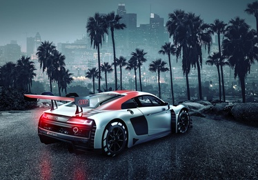 Komar Audi R8 L.A. Photo Wallpaper 8-742