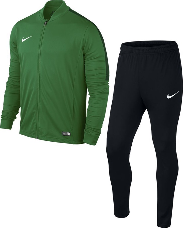 Nike Academy 16 Knit Junior Tracksuit Green Black S