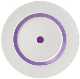 "ViceVersa Dessert Plate ""The Dot"" 23cm Purple"