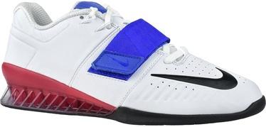 Nike Romaleos 3XD Shoes AO7987 104 White/Blue 47