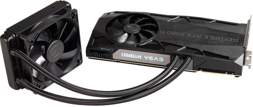 EVGA GeForce RTX 2080 TI FTW3 Ultra Hybrid Gaming 11GB GDDR6 PCIE 11G-P4-2484-KR