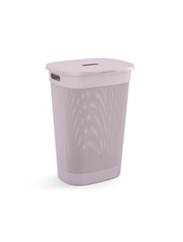 KIS Filo Laundry Hamper With Lid 55l Pink