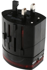Omega Travel Power Adapter + USB