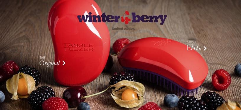 Tangle Teezer Salon Elite Hair Brush Winter Berry