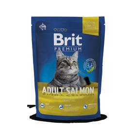 Kuivtoit kassidele Brit Premium Cat Adult Salmon, 300 g