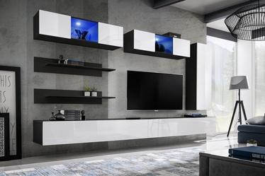ASM Fly L3 Living Room Wall Unit Set White/Black