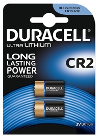 Duracell Ultra Batteries CR2 2pcs