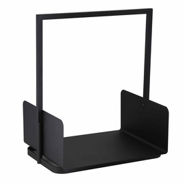 Verners Wood Basket 40.5x30x47cm Black