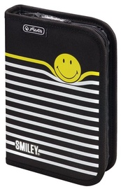 Herlitz Pencil Case Smiley World Black Stripes