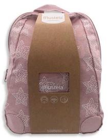 Mustela Baby Backpack 5pcs Set 340ml Pink
