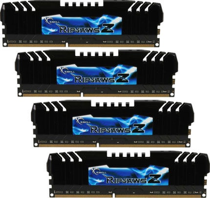 G.SKILL RipjawsZ 16GB 2133MHz DDR3 CL9 DIMM KIT OF 4 F3-17000CL9Q-16GBZH