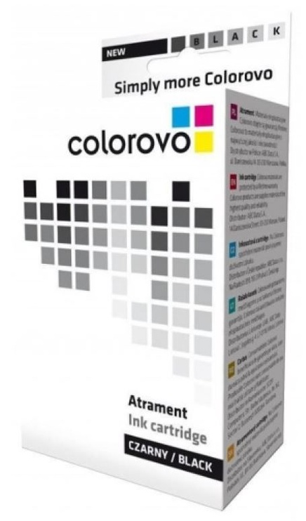 Colorovo Ink Cartridge For Canon BCI-24BK 10ml Black