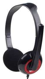 Kõrvaklapid Gembird MHS-002 Black/Red