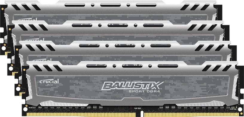 Crucial Ballistix Sport LT 32GB 2400MHz DDR4 CL16 KIT OF 4 BLS4C8G4D240FSB