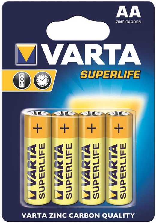 Varta Superlife Batteries 4x AA