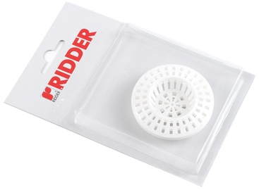 Ridder Sieve For Sink White 59mm