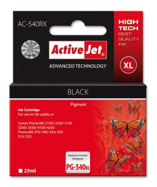 Tindiprinteri kassett Active Jet ACJ Canon AC-540RX PG-540XL, must