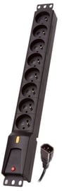 Lestar Power Strip 8 Outlet Black 1.5m