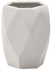 Gedy Dalia Toothbrush Holder White 10.6x8.1cm