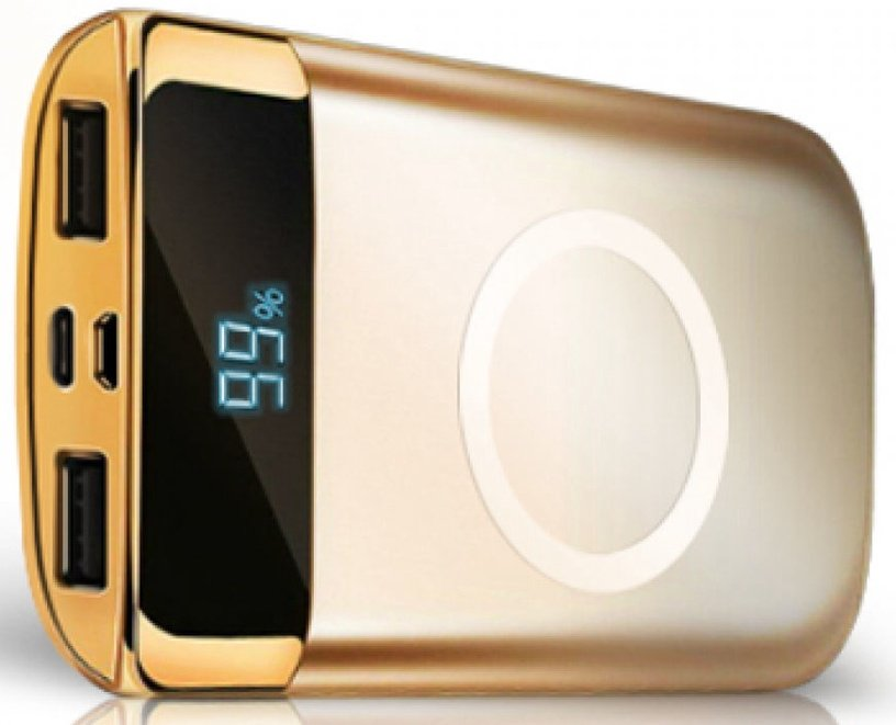 InnovaGoods Qi Wireless Power Bank 10000mAh