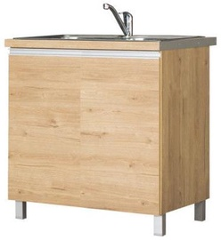 Bodzio Monia Lower Cabinet For Sink 80 Brown