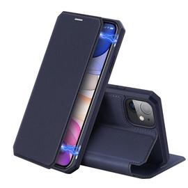 Dux Ducis Skin X Bookcase For Apple iPhone 11 Blue