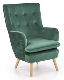 Tugitool Halmar Ravel Dark Green/Natural, 70x78x100 cm