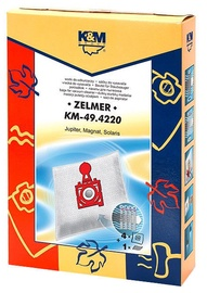 K&M Vacuum Cleaner Bags 4 + 1 Filter KM 49.4220 For Zelmer