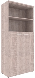 Skyland XTEN Office Cabinet XHC 85.6 Sonoma Oak