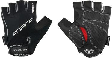Force Grip Gel Short Gloves Black M