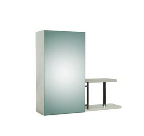 SN Musu Seimynele Bathroom Wall Cabinet S-1 White