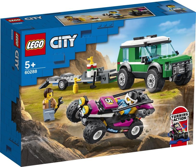 KONSTRUKT LEGO CITY TRANSPORTAUTO 60288