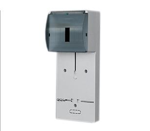 Elektroplast Breaker Box And Panel TLR-1F N+PE 154x380mm