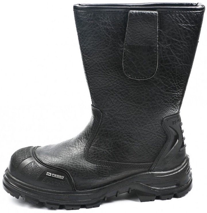 Pesso Safety Boots B643 S3 SRC Black 45