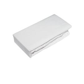 Простыня Okko 200051345716 White, 160x200 см, на резинке