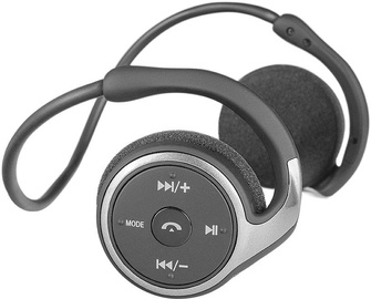 Kõrvaklapid Modecom MC-250 Black, juhtmevabad