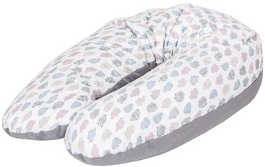 Ceba Baby Feeding Pillow Physio Multi Jersey Clouds