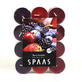 Lõhnaküünal Spaas Red Berries, 24 tk, 4.5 h