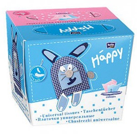 Bella Baby Happy Hygienic tissues Mix 80pcs