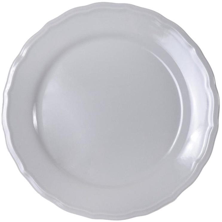 Bradley Ceramic Dessert Plate Julia 21cm Grey