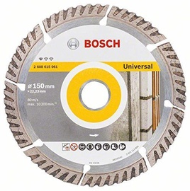 Bosch 2608615061 Universal Diamond Cutting Disc 150x22.23mm