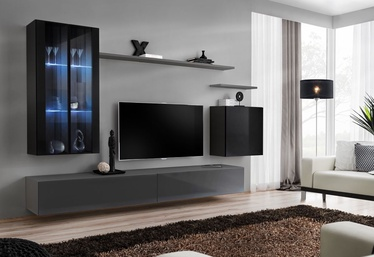ASM Switch XII Wall Unit Graphite/Black
