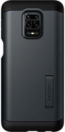 Spigen Tough Armor Back Case For Xiaomi Redmi Note 9 Pro Max Grey