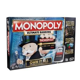 Lauamäng Hasbro Monopol Ultimate Banking LV/EST