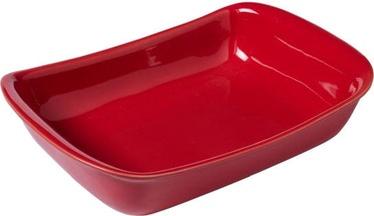 Pyrex Supreme Ceramic Roaster Red 30x20cm