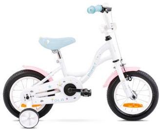 Laste jalgratas Romet Tom 12 7S White/Turquoise