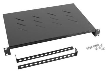 Lanberg Fixed Shelf 19'' 483x300mm Black